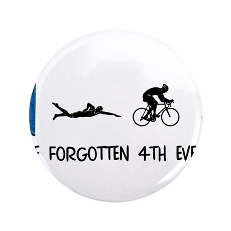 "Rated E for Everyone Triathlon 3.5"" Button"