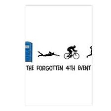 Rated E for Everyone Triathlon Postcards (Package