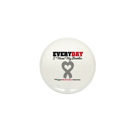 Brain Cancer Brother Mini Button (10 pack)