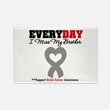 Brain Cancer Brother Rectangle Magnet