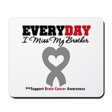 Brain Cancer Brother Mousepad