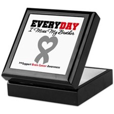 Brain Cancer Brother Keepsake Box