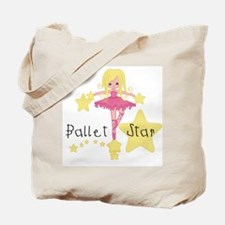 Ballet Star Tote Bag