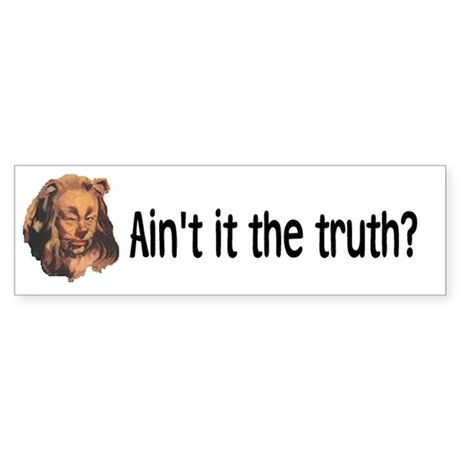 """Wizard of Oz"" Bumper Sticker"