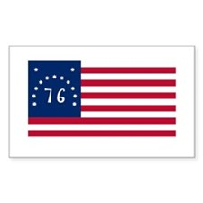 Bennington Flag Rectangle Decal
