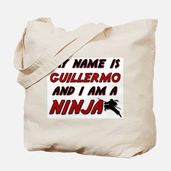 my name is guillermo and i am a ninja Tote Bag
