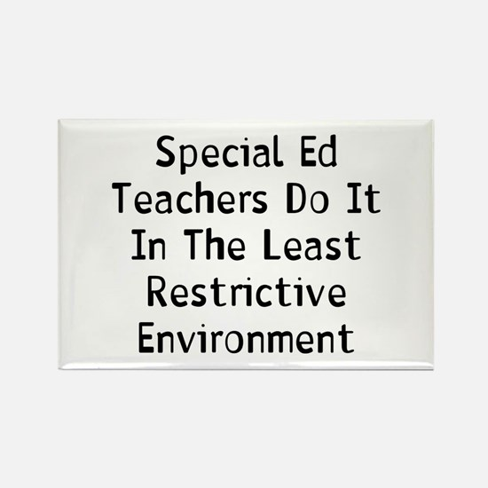 Special Ed Rectangle Magnet