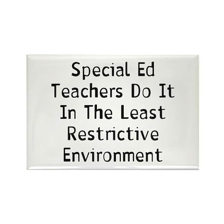 Special Teacher Rectangle Magnet