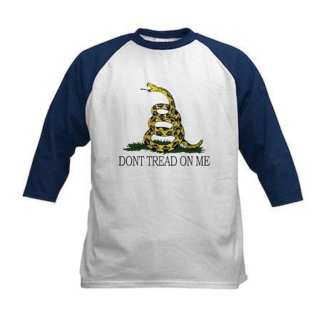 Dont Tread On Me Kids Baseball Jersey