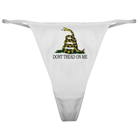 Dont Tread On Me Classic Thong