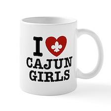 I Love Cajun Girls Mug