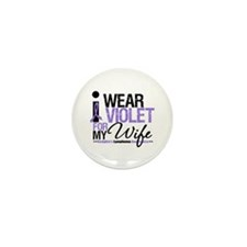 Hodgkin's Disease Wife Mini Button (10 pack)