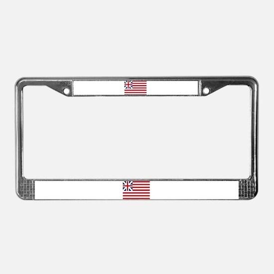 Grand Union Flag License Plate Frame