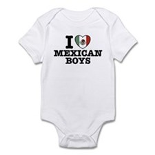 I Love Mexican Boys Infant Bodysuit