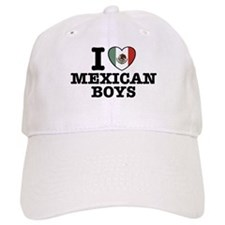 I Love Mexican Boys Baseball Cap