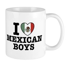 I Love Mexican Boys Mug