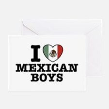 I Love Mexican Boys Greeting Cards (Pk of 10)