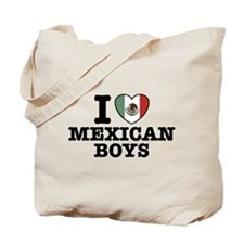 I Love Mexican Boys Tote Bag
