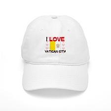 I Love Vatican City Baseball Cap