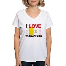 I Love Vatican City Shirt