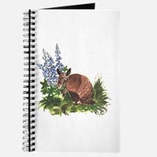 Armadillo with Bluebonnets Journal