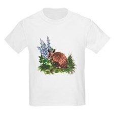Armadillo with Bluebonnets T-Shirt