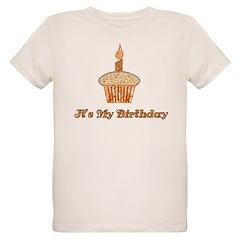 Birthday Cupcake Organic Kids T-Shirt