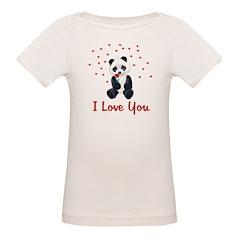 Panda Bear Valentine Tee