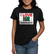 I Love Turkmenistan Tee
