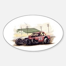 """""""Old Dirt!"""" 76 new Oval Decal"""
