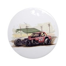 """Old Dirt!"" 76 new Ornament (Round)"