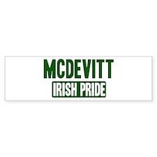 McDevitt irish pride Bumper Bumper Sticker