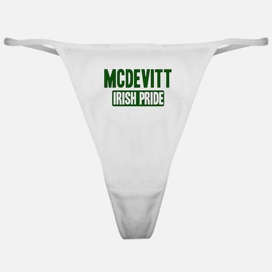 McDevitt irish pride Classic Thong