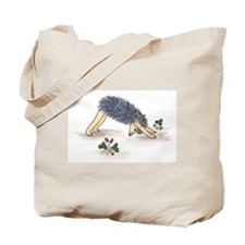 Downward Facing Yoga Hedgehog Tote Bag