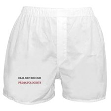 Real Men Become Primatologists Boxer Shorts