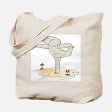 Elephant in Dancer's Pose Tote Bag