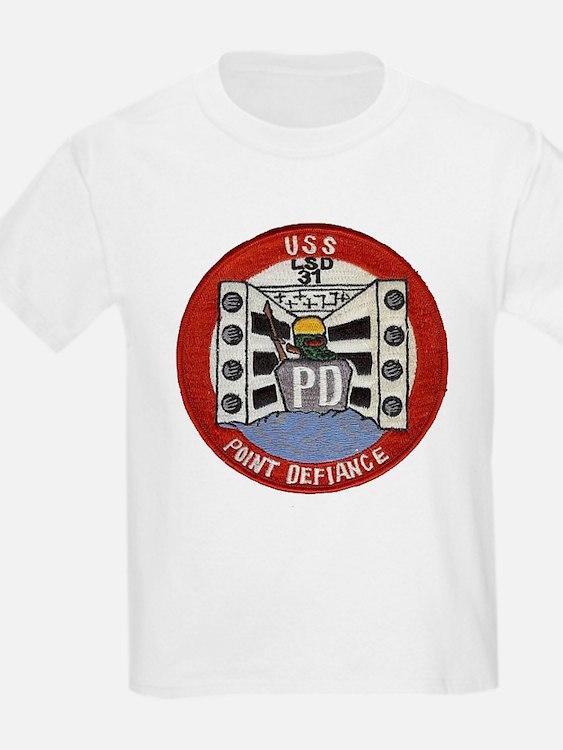 USS POINT DEFIANCE T-Shirt