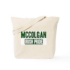 McColgan irish pride Tote Bag