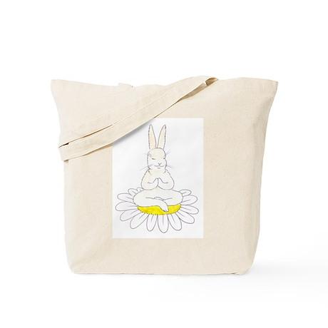 Buddah Bunny Tote Bag