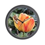 Tulip Flower Baby Wall Clock