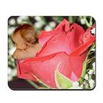 Rose Flower Baby Mousepad