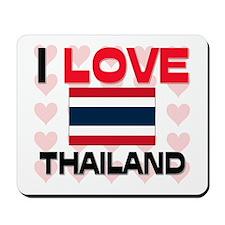 I Love Thailand Mousepad