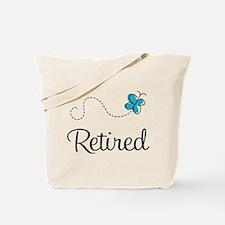 Pretty Retired Retirement Tote Bag