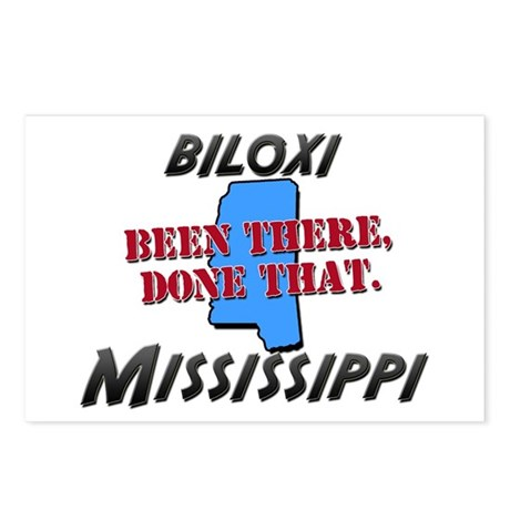 biloxi mississippi - been there, done that Postcar