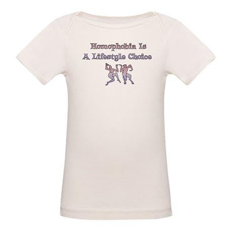 Homophobia Lifestyle Choice Organic Baby T-Shirt