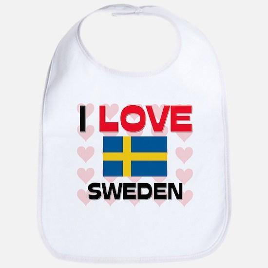 I Love Sweden Bib