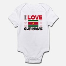 I Love Suriname Infant Bodysuit