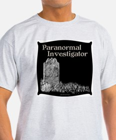 Old Tombstone Paranormal Inv. Ash Grey T-Shirt