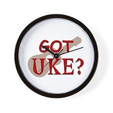 Got Uke? Wall Clock