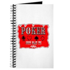 Poker, Just Play It! Journal